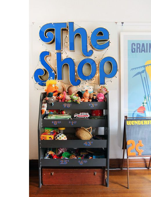 vintage toy shop