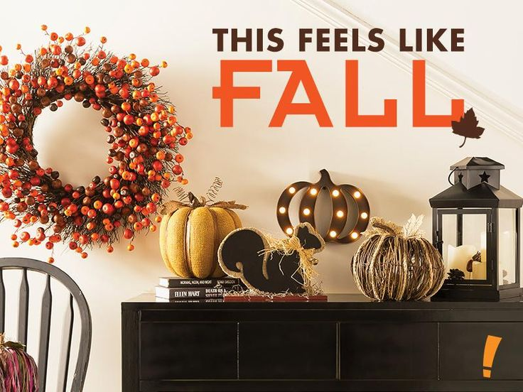 shop fall decor at big lots from wreaths to pumpkin decorations including glass and ceramic pumpkins and woodland creatures - Big Lots Home Decor
