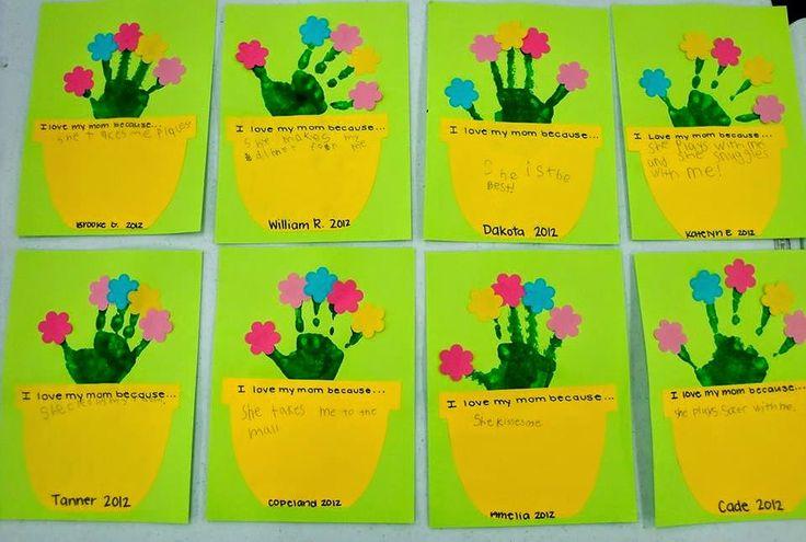 Askartelupankki: Äitienpäiväkortti