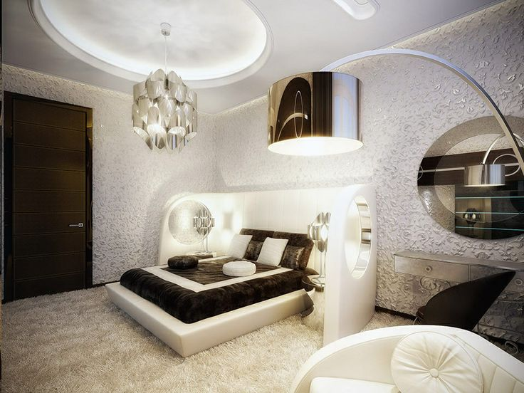 ... Moscow Based Interior Decorators, Geometrix Have Stumped Us With This  Modern Vintage, Black And White Luxury Apartment, Decked Out With Marilyn  Monroe.