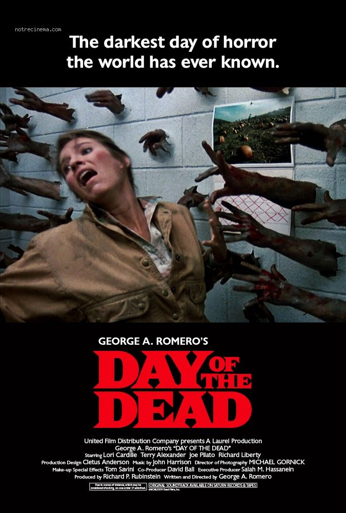 Day of the dead (1985) SOOOOOOOO  this film!!!).  (Mena ♌️  =)™