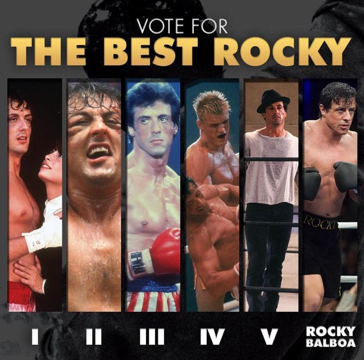 Vote for the best ROCKY! #Rocky