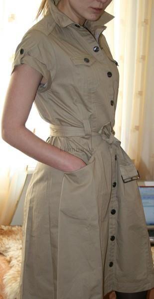 Платье в стиле сафари купить