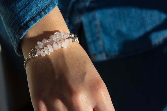 Armband met edelstenen cadeau voor haar door BohoFestivalReady