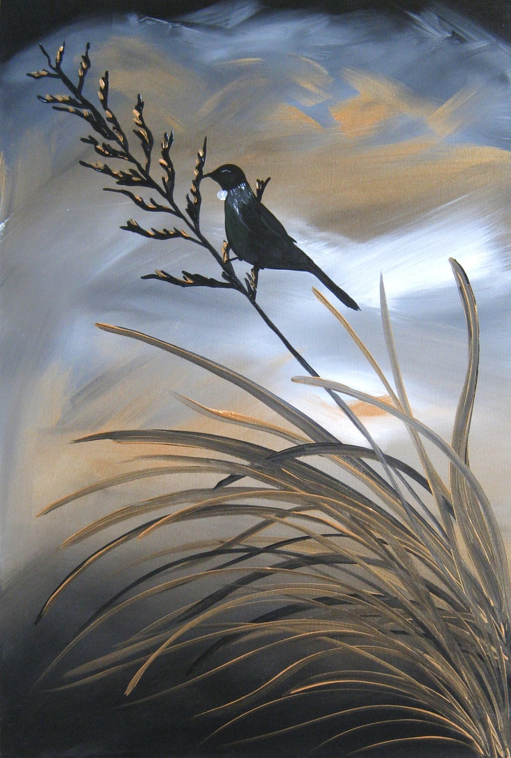 16 best New Zealand: Landscape Painting Series images on ...