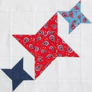 I love interlocking quilt blocks. This one is called Best Friends