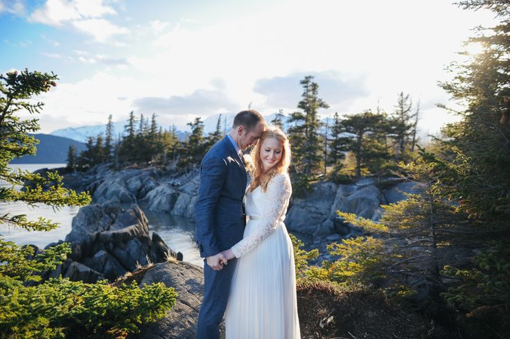A Simple, Intimate Elopement at Bird Point in Anchorage, Alaska Erica Rose Photography