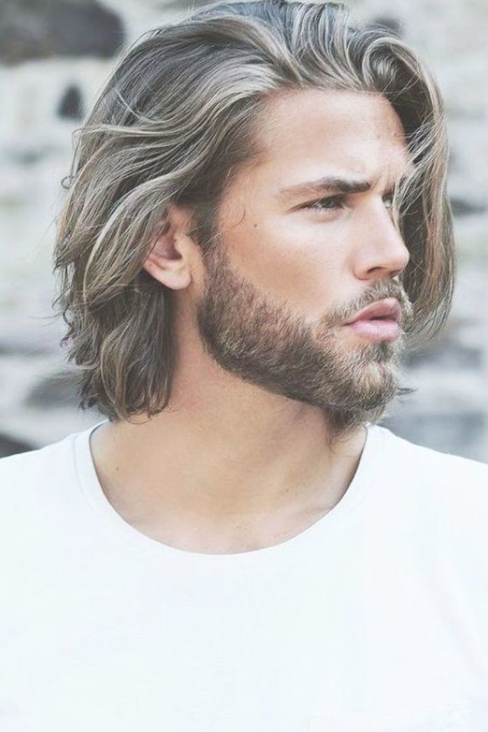 Irresistibly Attractive Long Hairstyles For Men Long Hair Styles Men Beard Styles For Men Haircuts For Men