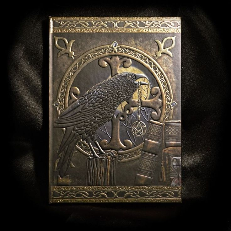 Stunning Magical RAVEN Journal ideal for Spellbook / Drawings & Harry Potter Fan