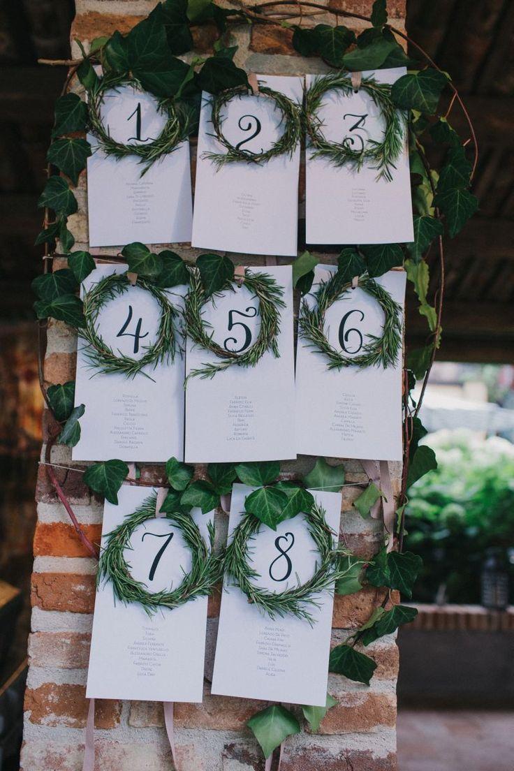 Coquette Atelier Wedding & Event _Tableau de mariage