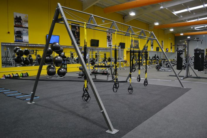 Hull functional training area
