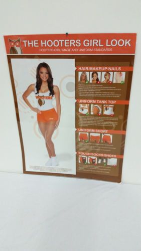 Calendar Costume Ideas : Quot the hooters girl look uniform standards poster