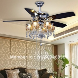 white ceiling fan with chandelier - Google Search