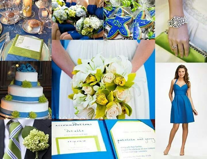 Yes I Am In Love With This If We Go A Summer Wedding Even The Cookies Are My Thought For Our Favor Blue And Lime Green