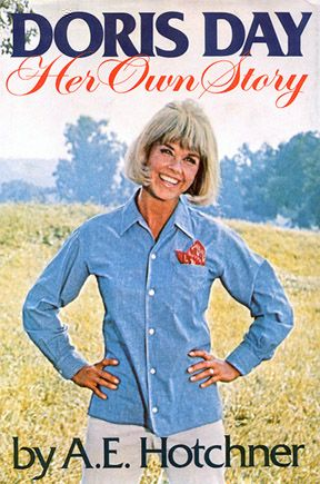 Doris Day, Her Own Story. I had to buy this online. Written in 1976, Doris' autobiography. Her real life was nothing like her on screen persona. She has had a tough time of it. Bad marriages, heartbreak, the loss of a son, she was even hit by a train. The book ends before her son died, but there were many problems, including a brush with Charles Manson. She chats about her films and co-stars. Ends with Doris giving advice on diet, excercise, fashion etc. An absolute vintage gem!