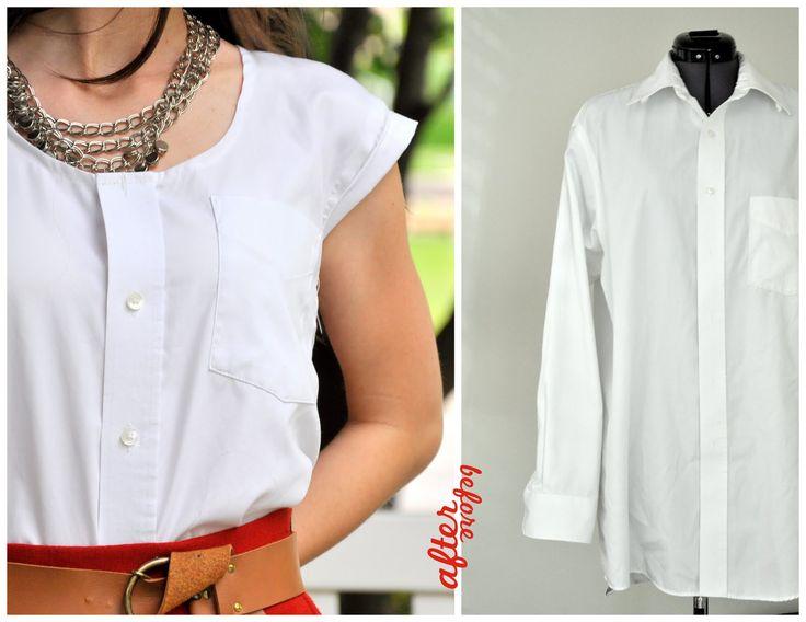 C: From my man's closet  remake a man's shirt