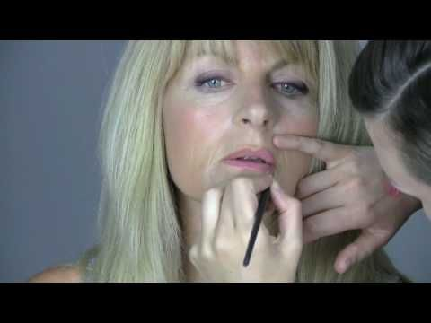 Evening make-up tutorial for mature ladies - YouTube