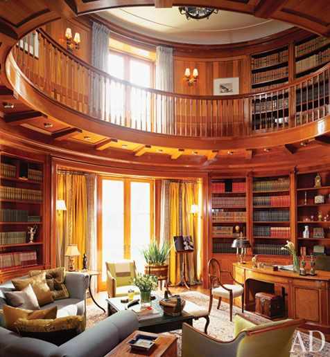Oh to have a library like this someday!: Interior, Idea, Home Libraries, Dream House, Book, Homes, Room, Dreamhouse