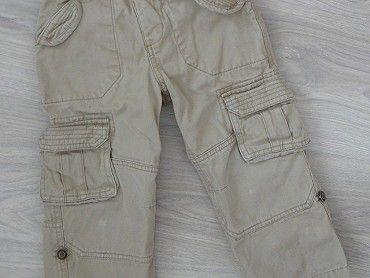 Bavlněné roll-up kalhoty, velikost 104