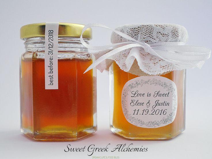 Bride to Bee Honey Wedding Favors