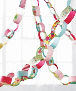 Modern Festive Paper Chain Craft Kit | Something special every day