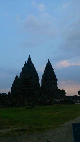 Prambanan Temple in Yogyakarta,Indonesia