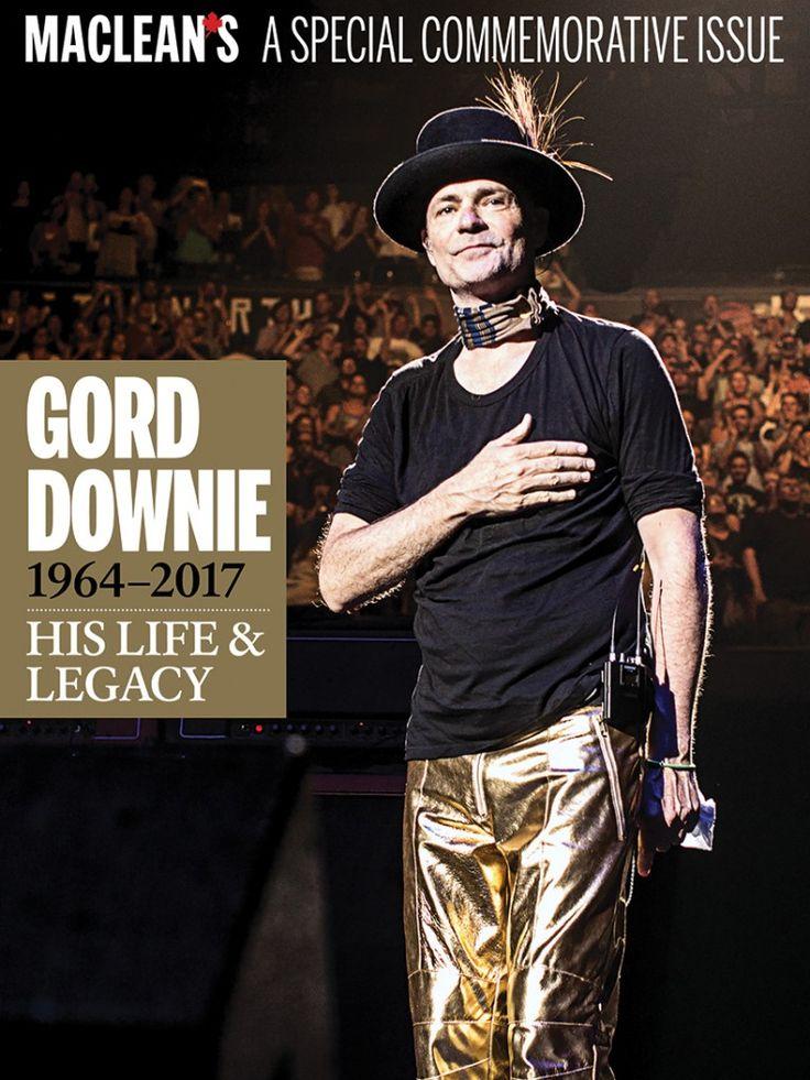 Tragically Hip Frontman, Gord Downie (02/06/64 - 10/17/17)