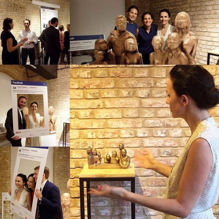 SMILE! Opening reception June 15th #guidedtour #exhibition #sculpture #bronze #gaud #art #hongkong #comixhomebase