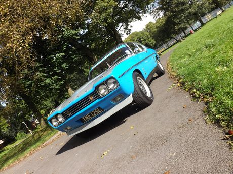 1972 Ford Capri Broadspeed Bullit Turbo - Silverstone Auctions