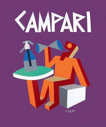 Bitter Campari - Fortunato Depero - 1926
