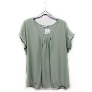 Yeşil Büyük Beden Bluz - 48 Beden