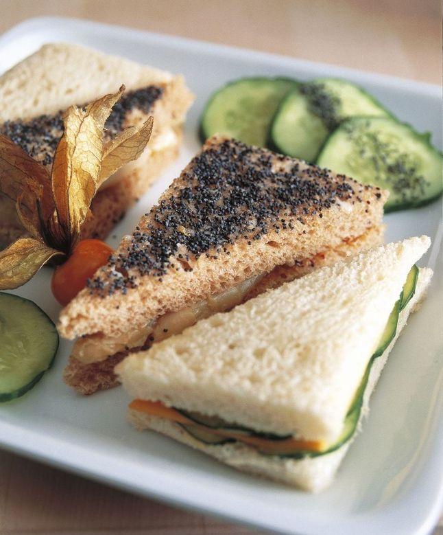 Fast food: 5 recetas que no engordan. En la imagen sandwich vegetal original.