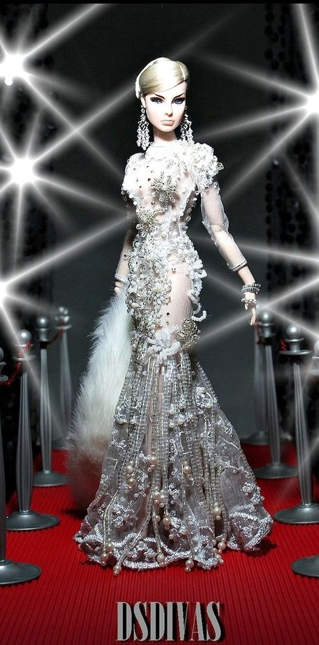 <3 Beautiful Barbie Gowns