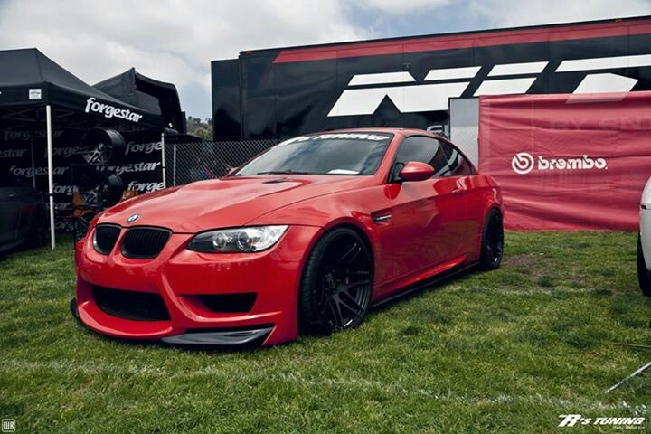 #LoveIt #BMW #335XI #Turbo #3.0L #Red #Stance #Lowered #HellaFlush #LowLife #Low #Stanced #StreetSweeper #Slammed #Flush #Fitment #DefineStance