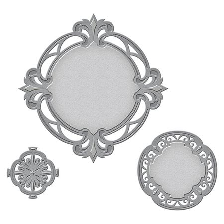 S4-588 Nestabilities Savoy Decorative Accent Etched Dies
