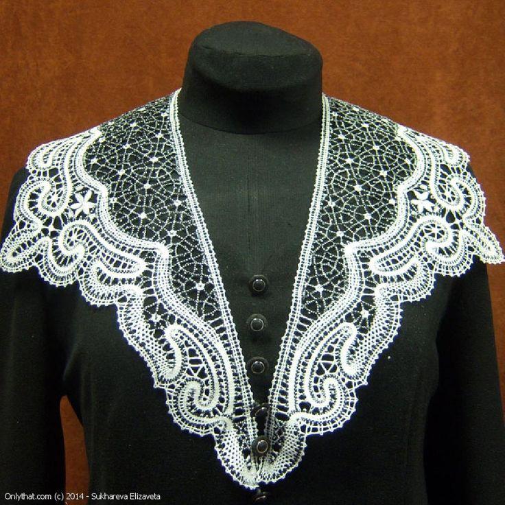 Collar - Vyatka bobbin lace