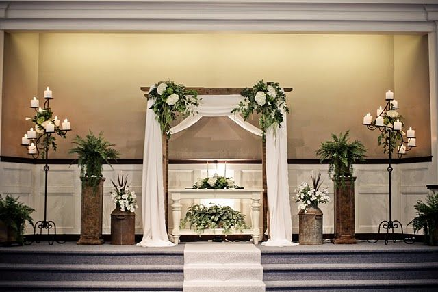 25 best ideas about church ceremony decor on pinterest for Backdrop decoration for church