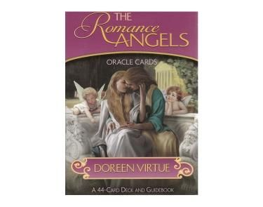 The Romance Angels - A 44 Angel Card Deck and accompanying guidebook, The Romance Angels by the incredible Doreen Virtue, focus on a team of cherubs who provide all love related guidance and aid you to provide accurate love life readings for friends, family or clients. These cards can reveal some valuable insights into romantic interests, paving the way to the ultimate goal of happiness through love.