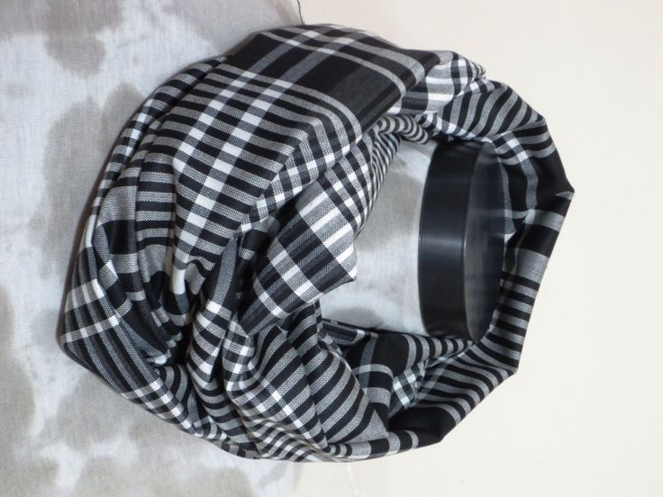 Men Scarf checkered pattern checkers, White and Black ekose fabric scarf,Men scarf, Men, Man, Guys, Personalized Men Scarf, Fabric by MenAccessory on Etsy