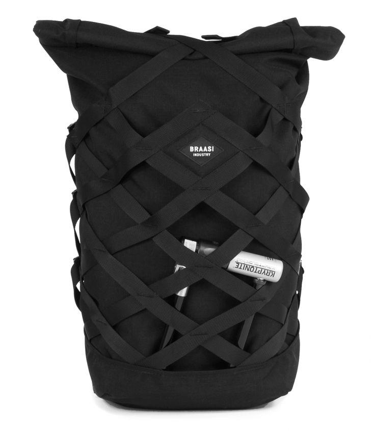 """BRAASI - """"Wicker"""" Urban Backpack"""