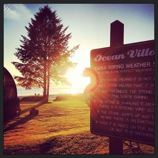 Summer nights at Ocean Village #Tofino