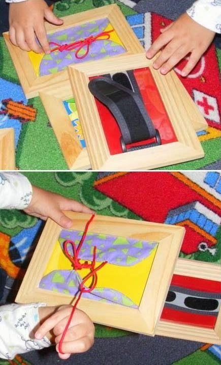 Color Your Life in Joy: Montessori Dressing Frames