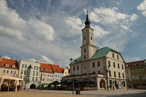 Gliwice - Town Square with Town Hall #silesia #śląsk