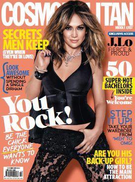 Cosmopolitan Middle East - October 2013 with Jennifer Lopez