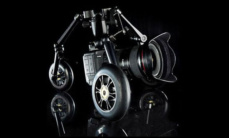 Ultra portable dolly system is crafted with superior materials. Designed with immense flexibility & unique body it can support camera rigs up to 9 kgs.