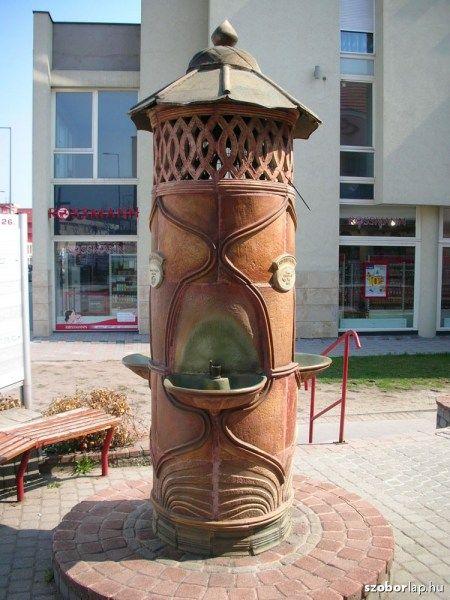 Drinking fountain (Sándorné Pálinkás Erzsébet) - Érd, Hungary