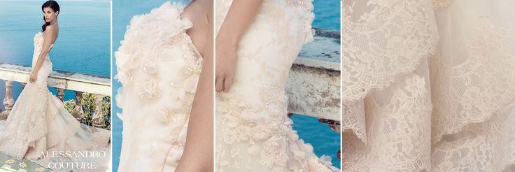 #WeddingDress #AlessandroAngelozziCouture #ElisabettaCanalis