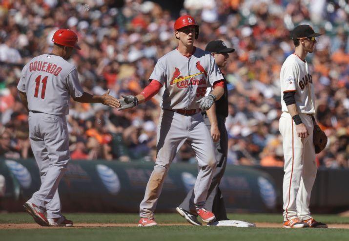 St. Louis Cardinals vs. San Francisco Giants - Photos - August 29, 2015 - ESPN