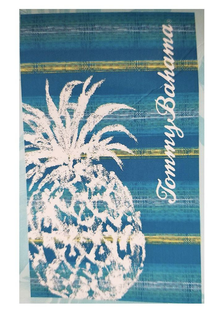 Tommy Bahama Beach Towel Pineapple 40 X 70 Inches 100 Cotton New
