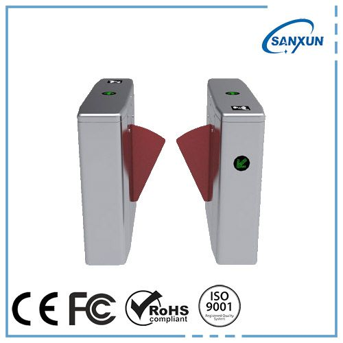 Source ETW-309 Automatic Flap Barrier Gate With Flap Turnstile on m.alibaba.com